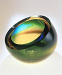 Art Glass Vessel by Kevin Kutch