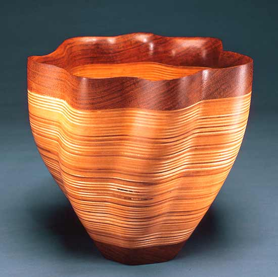 Jatoba Bowl - Wood Bowl - by Kerry Vesper