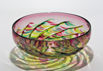 Art Glass Bowl by Michael Trimpol