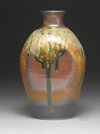 Ceramic Bottle by Mike Walsh