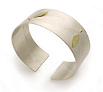 Silver Cuff by Jamie Cassavoy