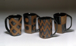 Ceramic Mugs by Emily Pearlman
