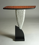 Wood Side Table by David Hurwitz