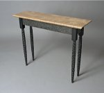 Wood Hall Table by David Hurwitz