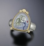 Silver & Gold Ring by Ananda Khalsa