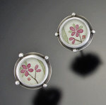 Sterling Silver Earrings by Ananda Khalsa