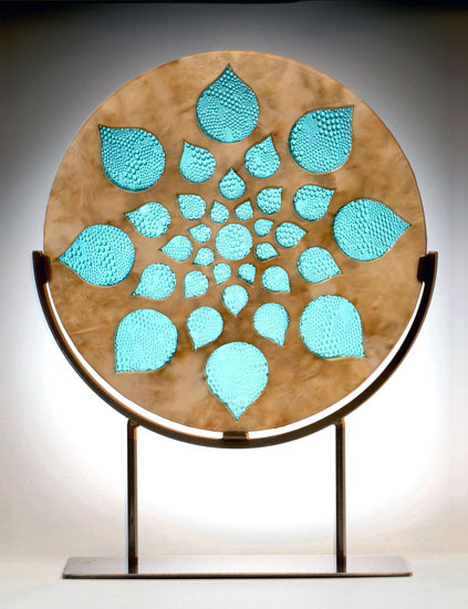 Rain Window Sculpture - Ceramic Sculpture - by Melody Lane