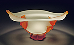 Art Glass Bowl by Tommie Rush