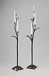 Iron Candelabra by Rachel Miller