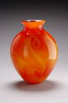Art Glass Vase by Geoff Lee