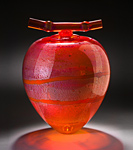 Art Glass Vessel by Geoff Lee