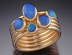 Gold & Opal Ring by Donald Pekarek