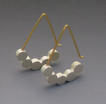 Silver Earrings by Elisa Bongfeldt