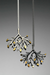 Silver & Gold Pendant by Sarah Hood