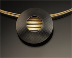 Silver & Gold Pendant by Tom McGurrin