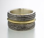 Silver & Gold Rings by Susan Barth