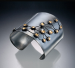 Gold & Silver Bracelet by Christy Klug