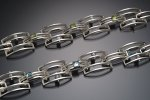 Silver & Stone Bracelet by Danielle L. Miller