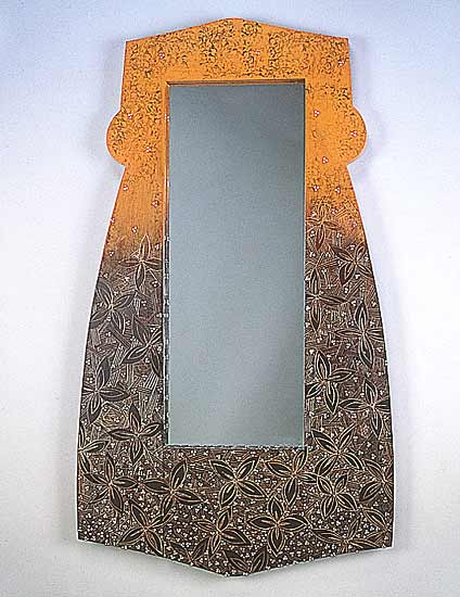 Midsummer Mirror - Wood Mirror - by Jenna Goldberg