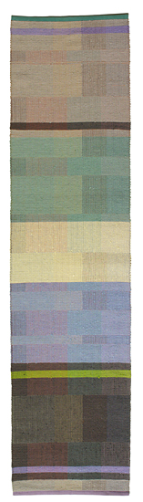 Earl Gray - Cotton Rug - by Claudia Mills