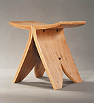 Bamboo Stool by David N. Ebner