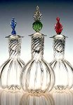 Art Glass Decanter by Robert Dane