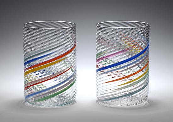 Big Glasses - Art Glass Tumblers - by Tom Stoenner