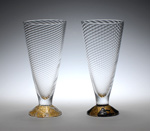 Art Glass Wine Cups by Tom Stoenner