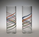 Art Glass Tumblers by Tom Stoenner