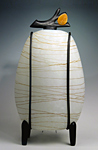 Glass Table Lamp by Melanie Guernsey-Leppla