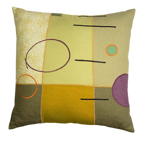 Parallel Lines - Pillow - by Susan Hill