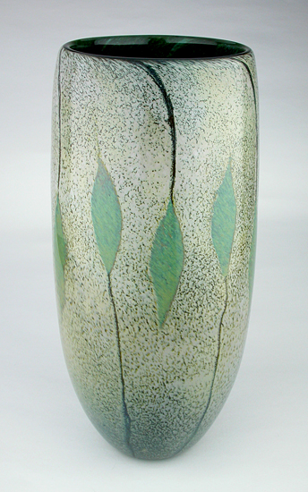 Nandina - Art Glass Vase - by Daniel Scogna