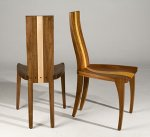 Wood Chair by Nathan Hunter