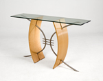 Wood Table by Nathan Hunter