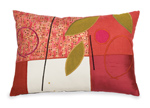 Appliqued Pillow by Susan Hill