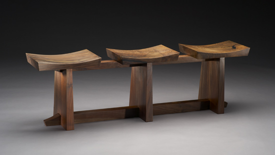 Grafted - Wood Bench - by Brian Hubel