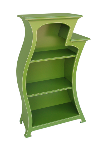 Bookcase No.2 - Wood Bookcase - by Vincent Leman