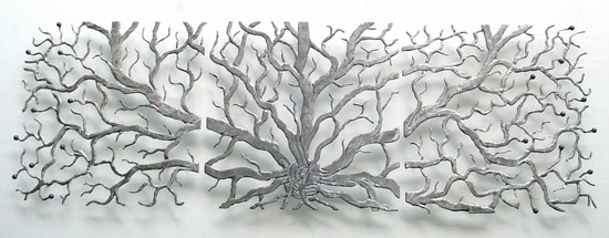 Branching Out - Metal Wall Art - by Bernard Collin