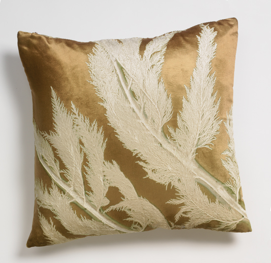 Forest on Cypress - Velvet Pillow - by Aviva Stanoff