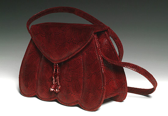 Audrey - Leather Purse - by Michelle LaLonde