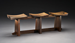 Wood Bench by Brian Hubel
