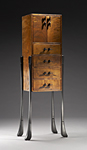 Wood Cabinet by Brian Hubel