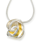 Gold & Silver Necklace by Jayne Redman