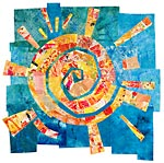 Art Quilt by Catherine Kleeman