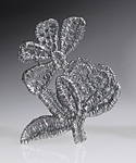 Silver Brooch by Sarah Richardson