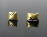 Gold Earrings by Susan Chin