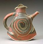 Porcelain Teapot by Kaete Brittin Shaw