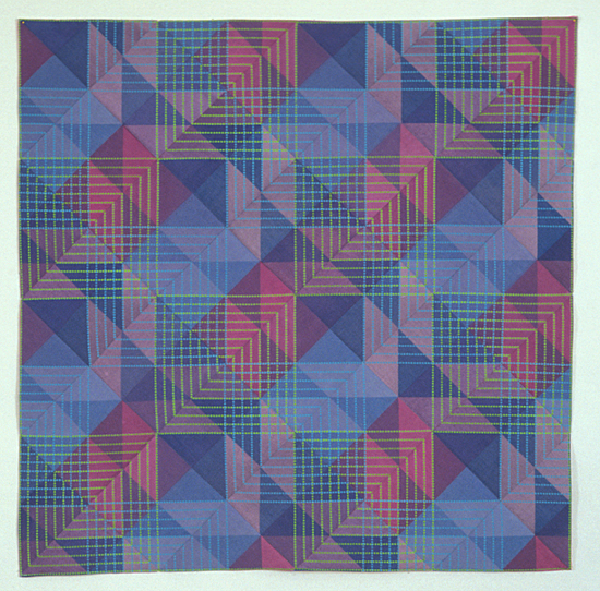 PW Block #8 - Art Quilt - by Ellen Oppenheimer