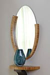 Wood Mirror by Richard Judd
