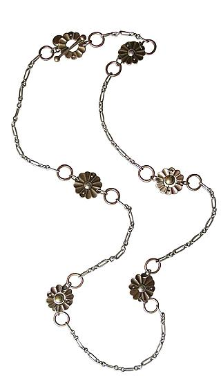 Techno Bloom Long Necklace - Jewelry Necklaces - by Thomas Mann